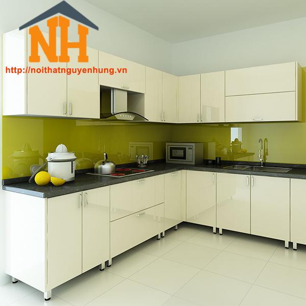 Tủ bếp gỗ cao cấp- NH03